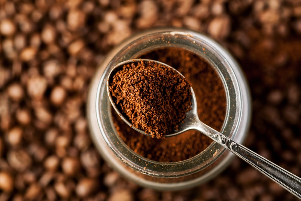 Step 1 Fill a fine mesh food grade bag with ground coffee