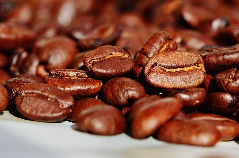 Coffee Beans Cafe Roasted